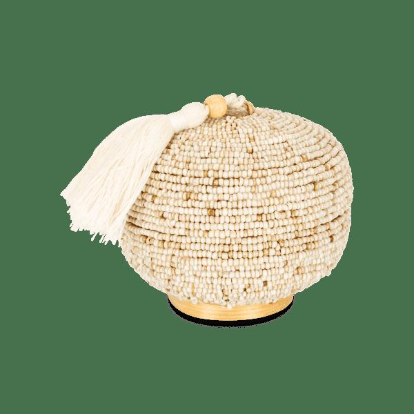 Mini Perlen Bambus Aufbewahrungsbox - MAYA