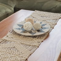 Boho Wanddekoration Seegras - SALAK