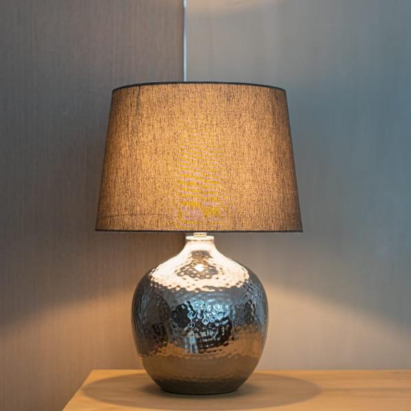 große Tischlampe Schwarz - KIAK -