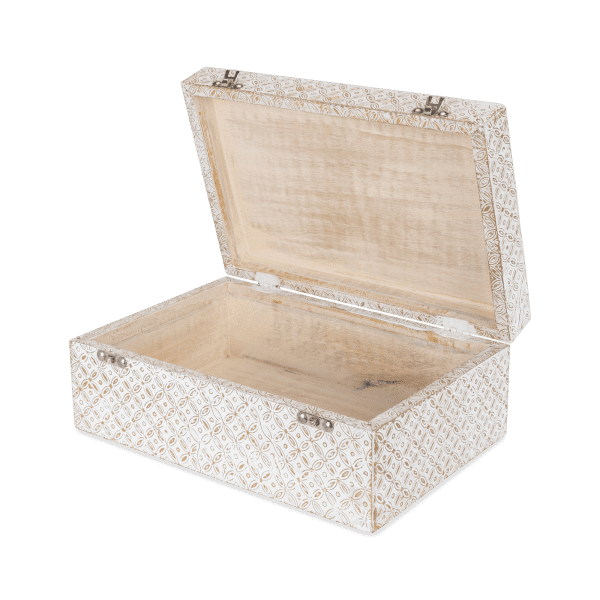 2-er Set Aufbewahrungsbox Mangoholz - POLA