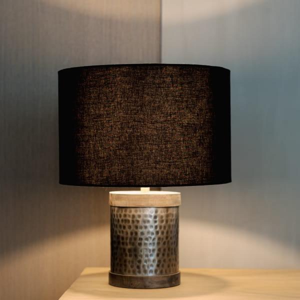 Tischlampe Schwarz Metall - SEKURA -