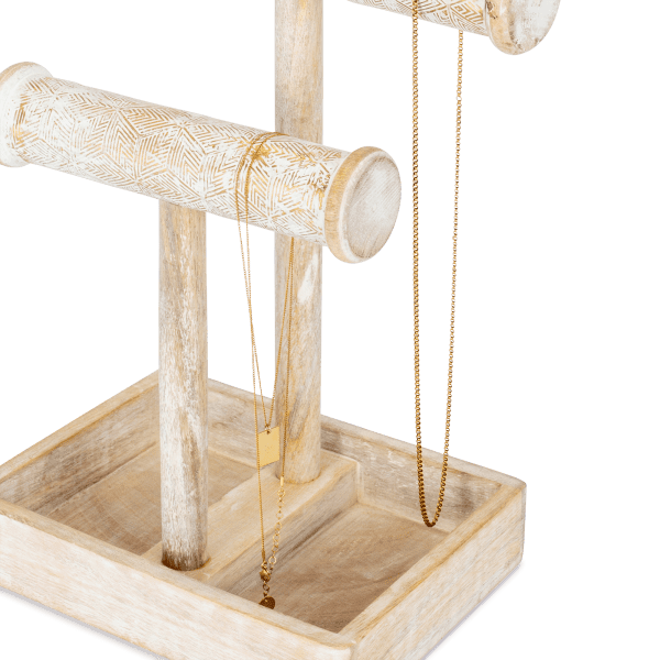 Mangoholz Schmuckständer - POLA