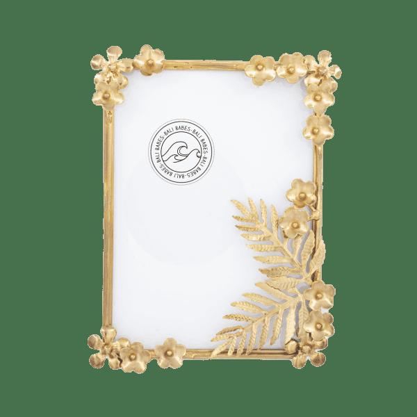 Bilderrahmen Gold Blume - MANA -