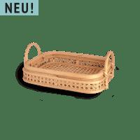 Viereckiges Rattan Serviertablett - REO