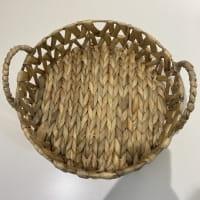 Serviertablett aus Wasserhyatinthe - RAWE
