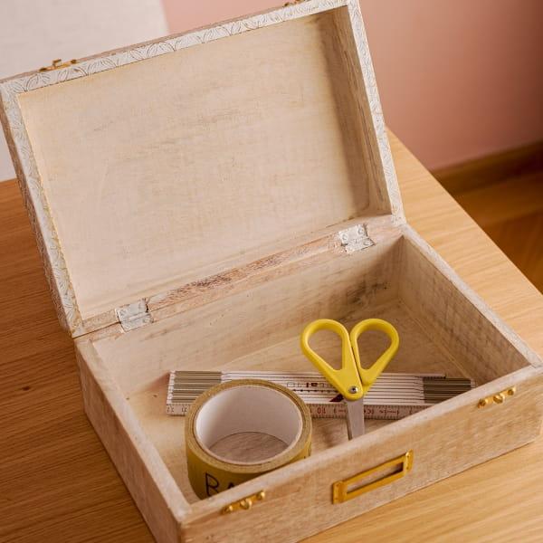 3-er Set Mangoholz Aufbewahrungsbox - POLA