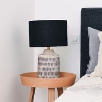 Tischlampe Schwarz - ENDIA -