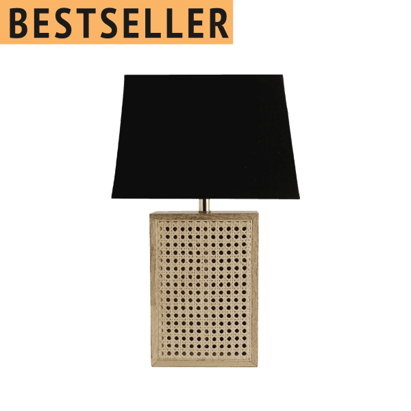 Tischlampe Wiener Gepflecht - RASAU -