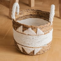 Boho Korb mit Baumwolldetails - GILI AIR -
