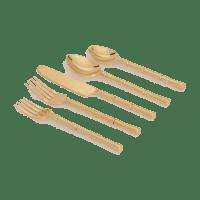 Bambus Besteck Set 5-teilig - BAMBOO -