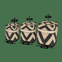 Muschel Bambus Aufbewahrungsbox - AGUNG
