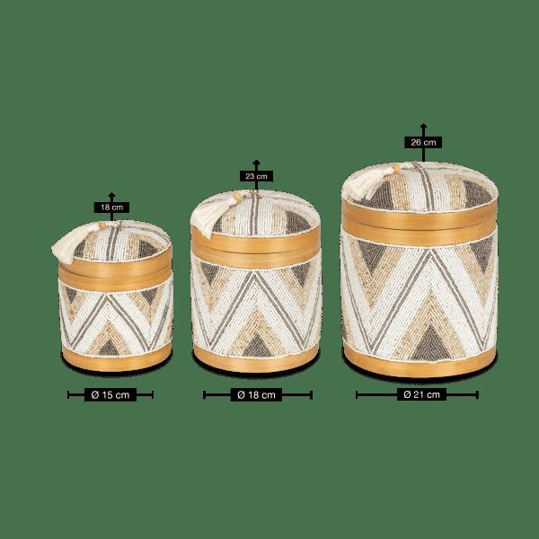 Bambus Aufbewahrungsbox - GIANYAR