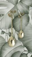 Teelöffel Gold Set - LEAVES -