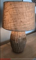 große Tischlampe Mangoholz - LEDO -