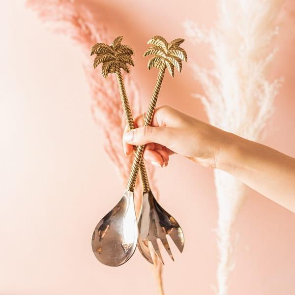Palmen Salatbesteck - PALEM -