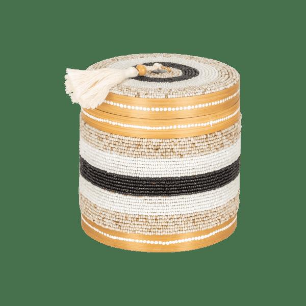 Bambus Aufbewahrungsbox Perlen - CANDI DASA