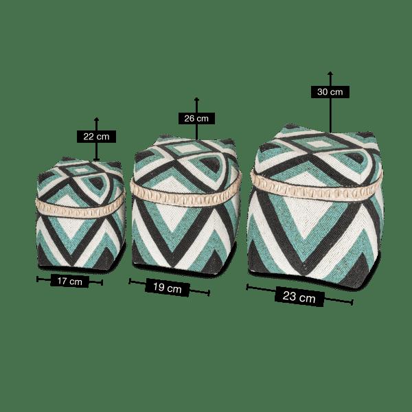 Bambus Aufbewahrungsbox - AHMED
