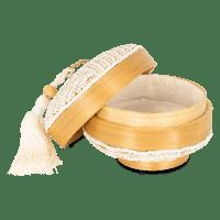 Mini Perlen Bambus Aufbewahrungsbox - MAYA II