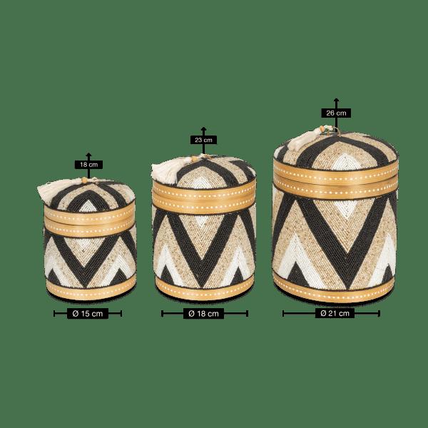 Bambus Aufbewahrungsbox - MAYONG