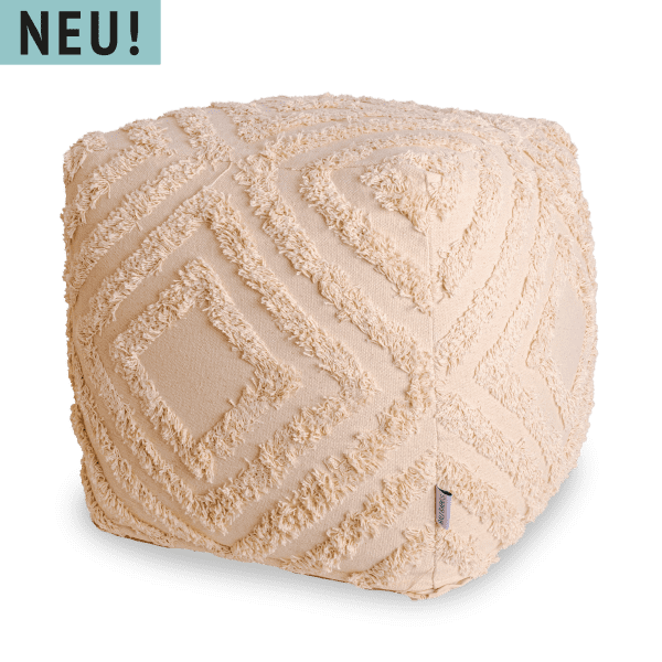 Boho Pouf 45x45 - WEDA -