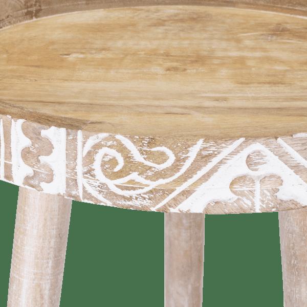 Ethno Muster Beistelltisch - BALI VIBES